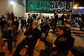 Iranians hold mourning ceremonies of the night of Ashura, South Khorasan Province, Iran, August 18, 2021.