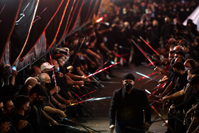 Iranians hold mourning ceremonies of the night of Ashura, Tehran, Iran, August 18, 2021.