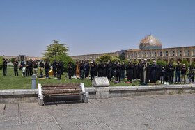 A mourning ceremony is held on the martyrdom anniversary of Imam Hussain (PBUH), Isfahan, Iran, August 19, 2021.