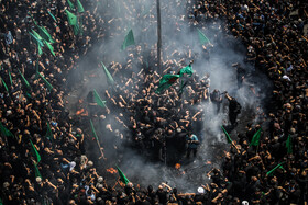 A mourning ceremony is held on the martyrdom anniversary of Imam Hussain (PBUH), Tehran, Iran, August 19, 2021.