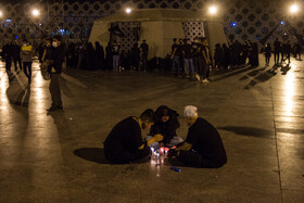 The mourning ceremony of Sham-e Ghariban is held in Imam Hussain Square, Tehran, Iran, August 19, 2021.
