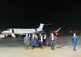 Japanese Foreign Minister arrives in Tehran