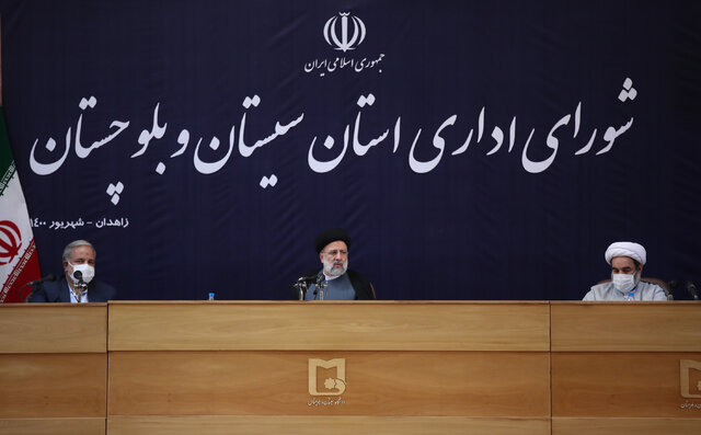 Unity, cohesion in Sistan and Baluchestan thwart conspiracies of enemies for this province: President Raisi