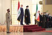 Iranian President officially welcomes Iraqi PM