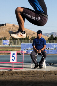 The 25th edition of the track and field championship of Iranian clubs, Tehran, Iran, September 13, 2021.