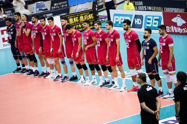Iran defeats Thailand in Asian Men's Volleyball Championship
