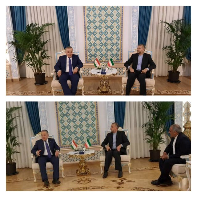 Iranian, Tajik FMs stress need for formation of all-inclusive government in Afghanistan
