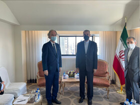 Iran FM discusses Syria situation with UN special envoy