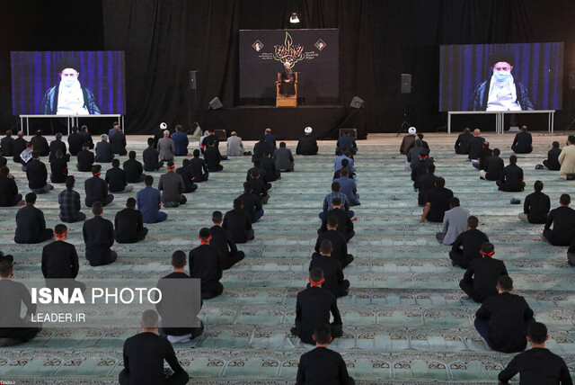 Leader attends Arbaeen mourning ceremony via videoconference