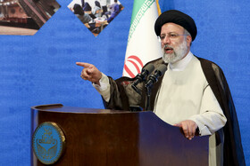 The beginning of the new academic year of universities is marked in a ceremony attended by Iranian President Ebrahim Raisi, Tehran, Iran, October 11, 2021.