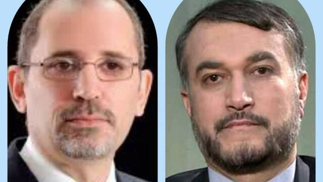 Iran, Jordan FMs voice support for Palestinian rights