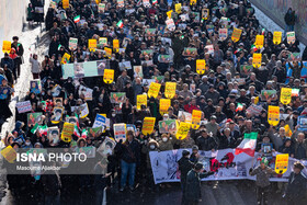 Iranians mark the 41st anniversary of the Islamic Revolution's victory, Karaj, Iran, February 11, 2020.