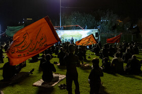The mourning ceremony of the night of Ashura in Shahriar County, Tehran, Iran, August 29, 2020.