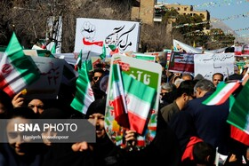 Iranians mark the 41st anniversary of the Islamic Revolution's victory, Shiraz, Iran, February 11, 2020.