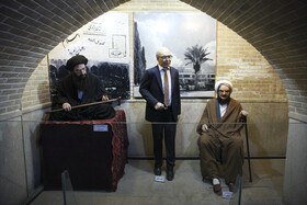 Hall of fame museum of Shiraz, Iran, August 5, 2020. Hall of fame museum of Shiraz is also located in this House in which wax effigies of Iranians are on display.