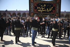 The mourning ceremony of Ashura Day in Shiraz, Iran, August 30, 2020.