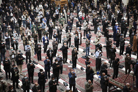 Friday Prayer is offered in Shiraz after six months, Fars province, Iran, January 8, 2021.