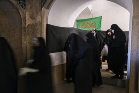 On the sidelines of a mourning ceremony held on the martyrdom anniversary of Imam Jafar Sadeq (Peach Be Upon Him), Shiraz, Iran, June 6, 2021.