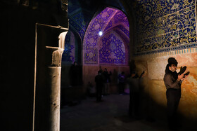 Iranians hold the first 'Laylat al-Qadr' ceremony of Ramadan Month, Isfahan, Iran, May 12, 2020. Muslims believe that on this night the blessings and mercy of God are abundant, sins are forgiven and supplications are accepted.