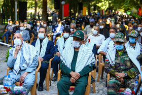 A ceremony honoring the veterans of the Sacred Defense, Isfahan, Iran, September 21, 2020.
