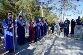 Armenian martyrs are commemorated in Isfahan, Iran, February 4, 2021.