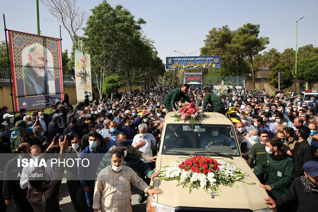 Isfahan holds funeral for General Hejazi