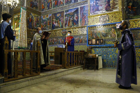 The 106th anniversary of the Armenian Genocide is marked at Vank Church in Isfahan, Iran, April 24, 2021.