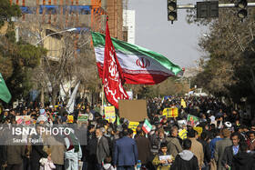 Iranians mark the 41st anniversary of the Islamic Revolution's victory, Kerman, Iran, February 11, 2020.