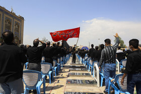 A mourning ceremony is held on the martyrdom anniversary of Imam Hussain (PBUH), Kerman, Iran, August 19, 2021.