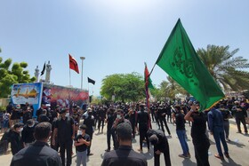 The mourning ceremony of Ashura Day in Kish, Iran, August 30, 2020.