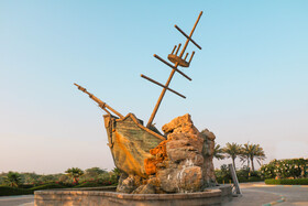 The attractions of Kish Island located in southern Iran, November 10, 2020.
