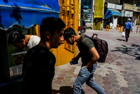 Hot temperatures of Mashhad City, Iran, June 4, 2020. The temperature of the city reached 39 degrees centigrade on Thursday June 4.