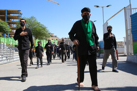 The mourning ceremony of Ashura Day in Mashhad, Iran, August 30, 2020.