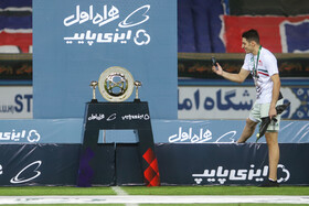 On the sidelines of the championship of Tractor Sazi Tabriz FC at Hazfi Cup of Iran, September 3, 2020. Tractor Sazi beat Esteghlal FC 3-2 on Thursday to win Iran's Hazfi Cup for the second time in the soccer club's history.