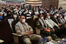 A ceremony honoring the veterans of the Sacred Defense, Sanandaj, Iran, September 21, 2020.