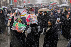 Iranians mark the 41st anniversary of the Islamic Revolution's victory, Arak, Iran, February 11, 2020.