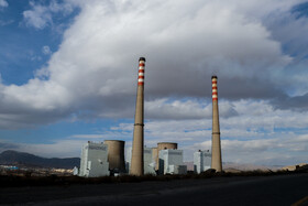 Shazand Power Plant, which uses mazut as its fuel oil, is seen in the photo, December 26, 2020.