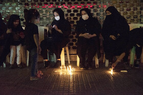 The mourning ceremony of Sham-e Ghariban is held in Sari City, Iran, August 30, 2020.