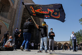 The mourning ceremony of Ashura Day in Qazvin, Iran, August 30, 2020.