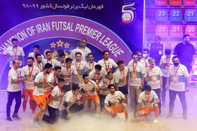 Mes Sungun claims championship of Iran's futsal league