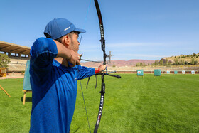 The second round of training session of Iran's recurve national team begins in Tabriz, Iran, October 7, 2020.