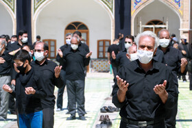 The mourning ceremony of Ashura Day in Zanjan, Iran, August 30, 2020.