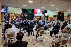 A ceremony honoring the veterans of the Sacred Defense, Zanjan, Iran, September 21, 2020.